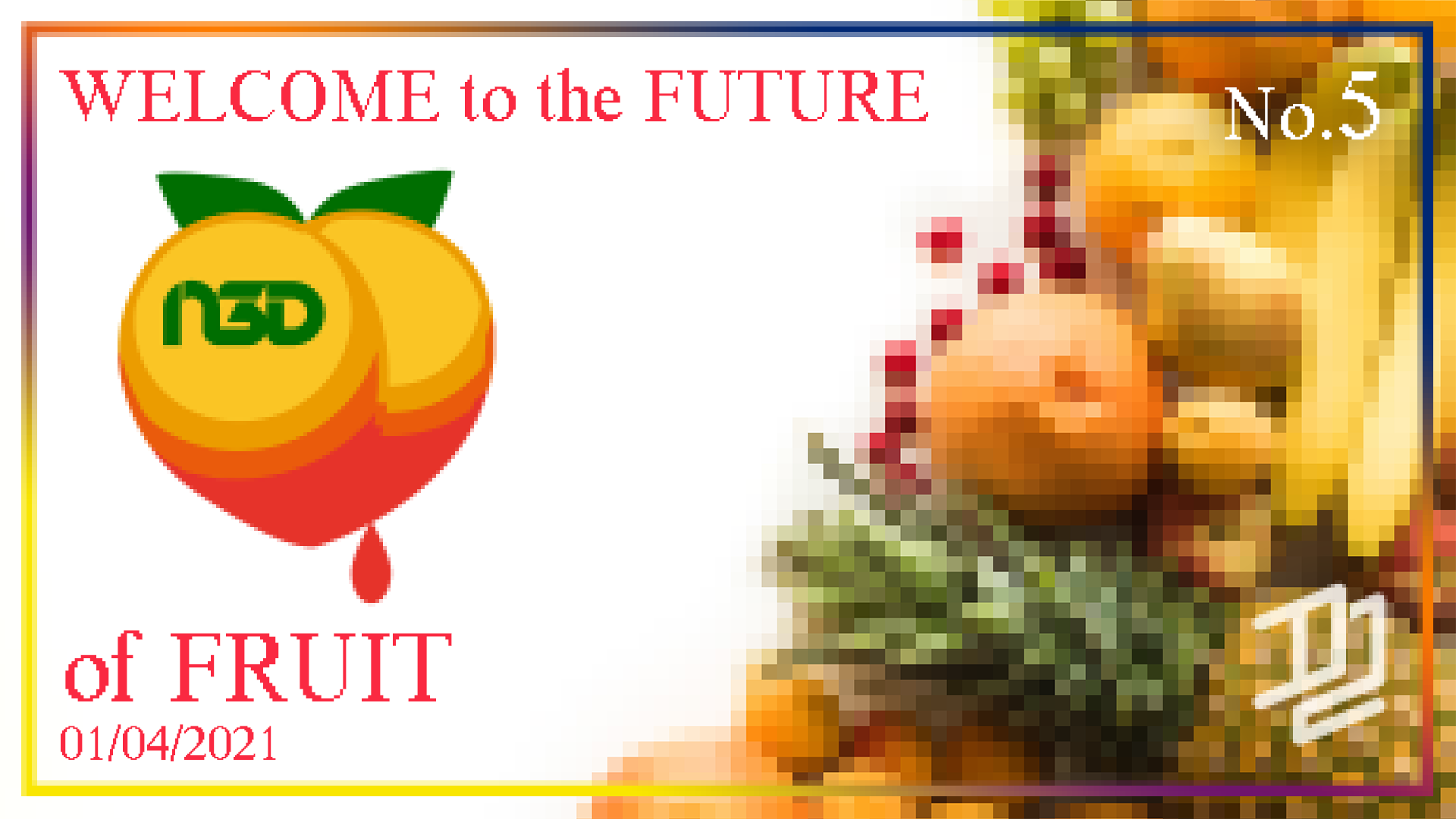 Narvalo 3d Future of Fruit
